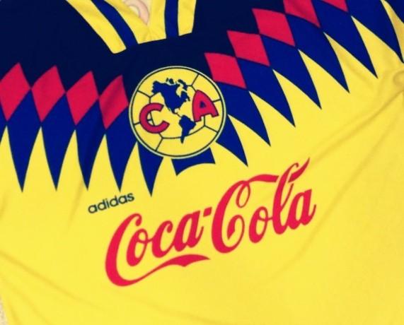 Club América, Adidas, 1996,