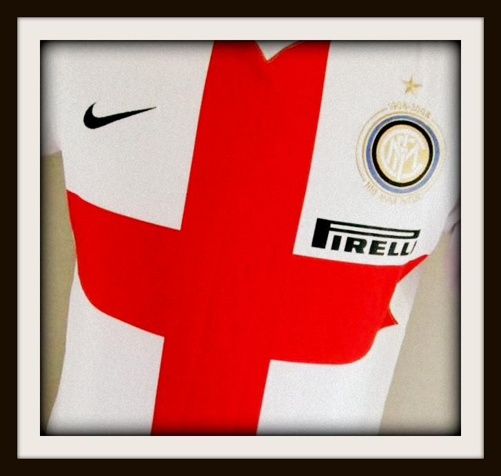 Inter Milan, crociata, centenary, Nike, cross, st george