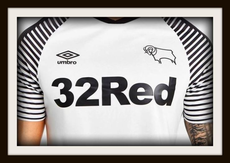 Derby County, home, Kit, Umbro