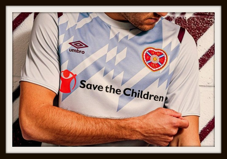Umbro, Hearts, 2019-2020, away
