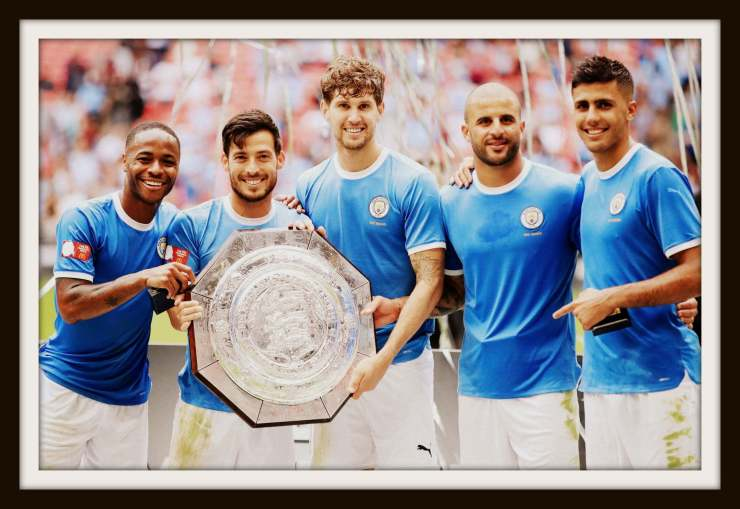 Manchester City, Community Shield, 2019, Puma, Shirts