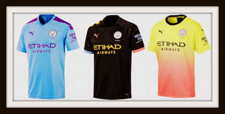 Manchester City, 2019-20, home, away, third, Puma