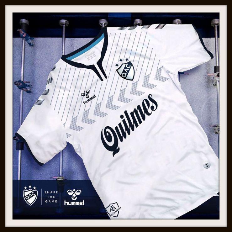 Quilmes, Spurs, home, shirt, Hummel, Argentina