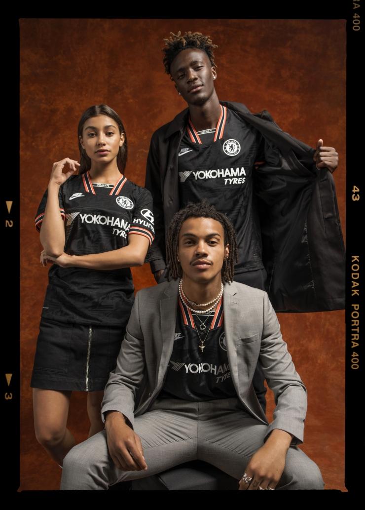 Nike, Chelsea, 2019-20, 3rd kit