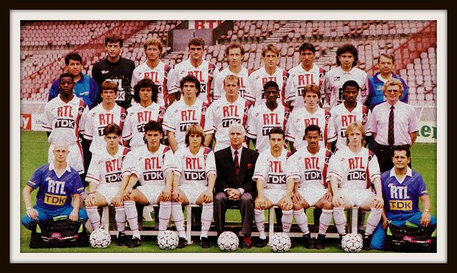 Nike, PSG, 3rd shirt, 1989