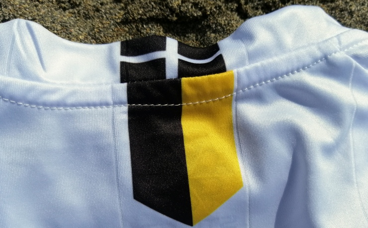 Kernow, St Piran's flag, football shirt