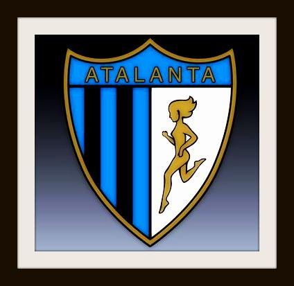 Atalanta, vintage, badge