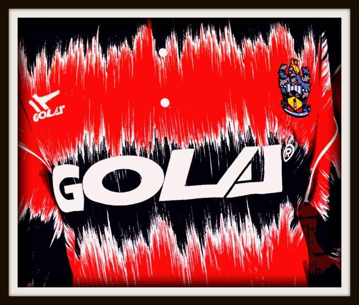 Huddersfield Town, 1991-93, away, gola