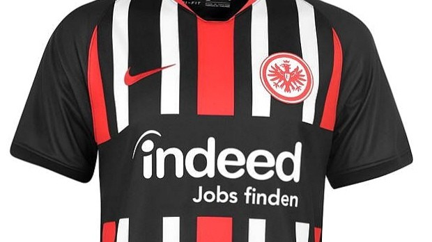 Eintracht Frankfurt, Nike, home
