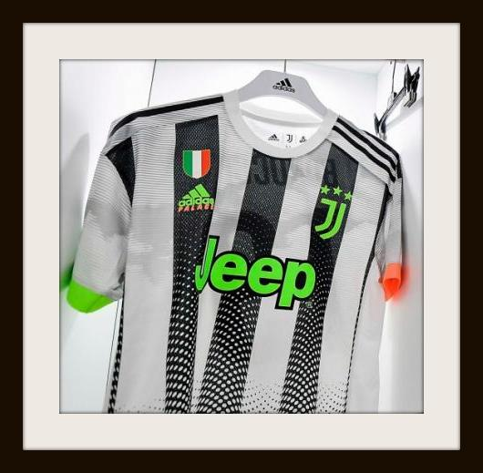 Juventus 4th kit by Palace and Adidas