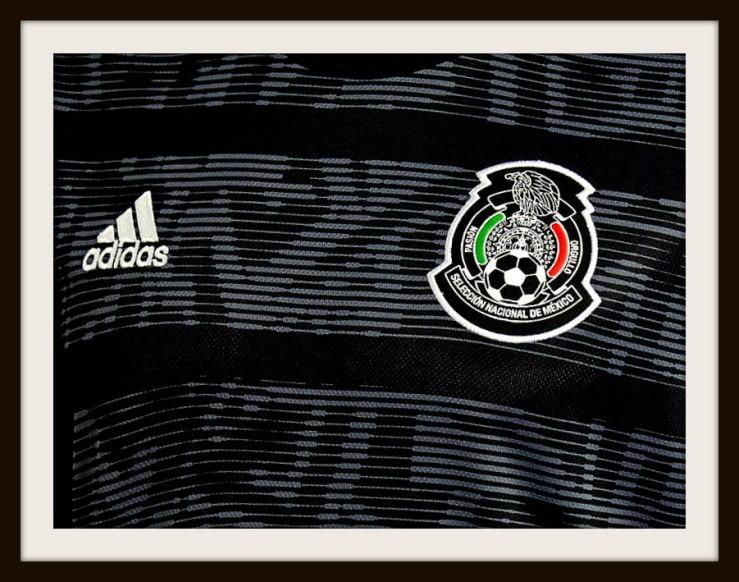 Mexico, Adidas, 2019, black