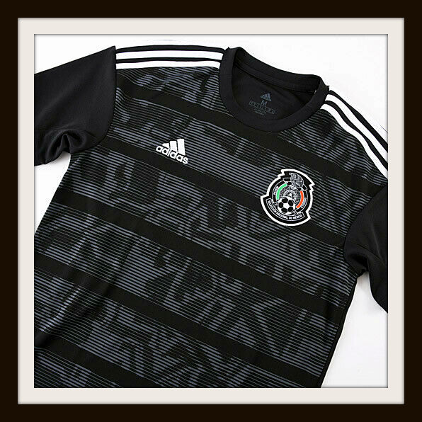 Mexico, Adidas, black, shirt