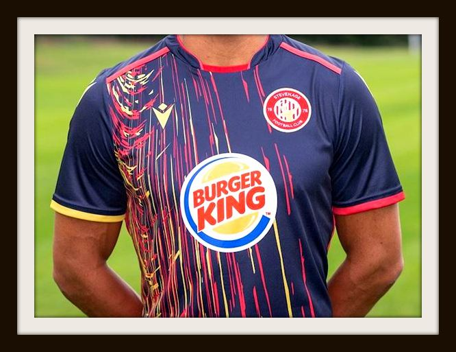 Stevenage, away, Burger King