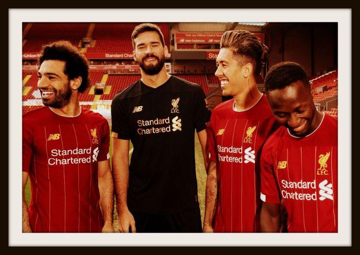 Liverpool, New Balance, 2019-2020
