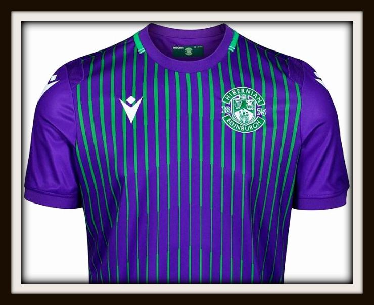 Hibs, 2019-20, away kit, Macron