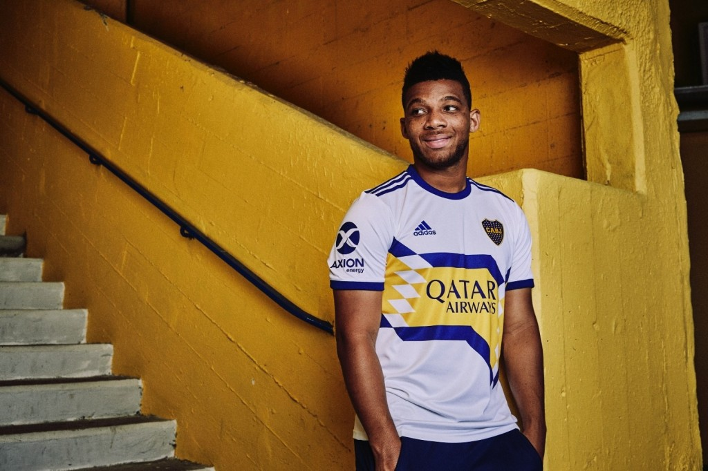 Boca Juniors, away, Adidas, La Bombonera