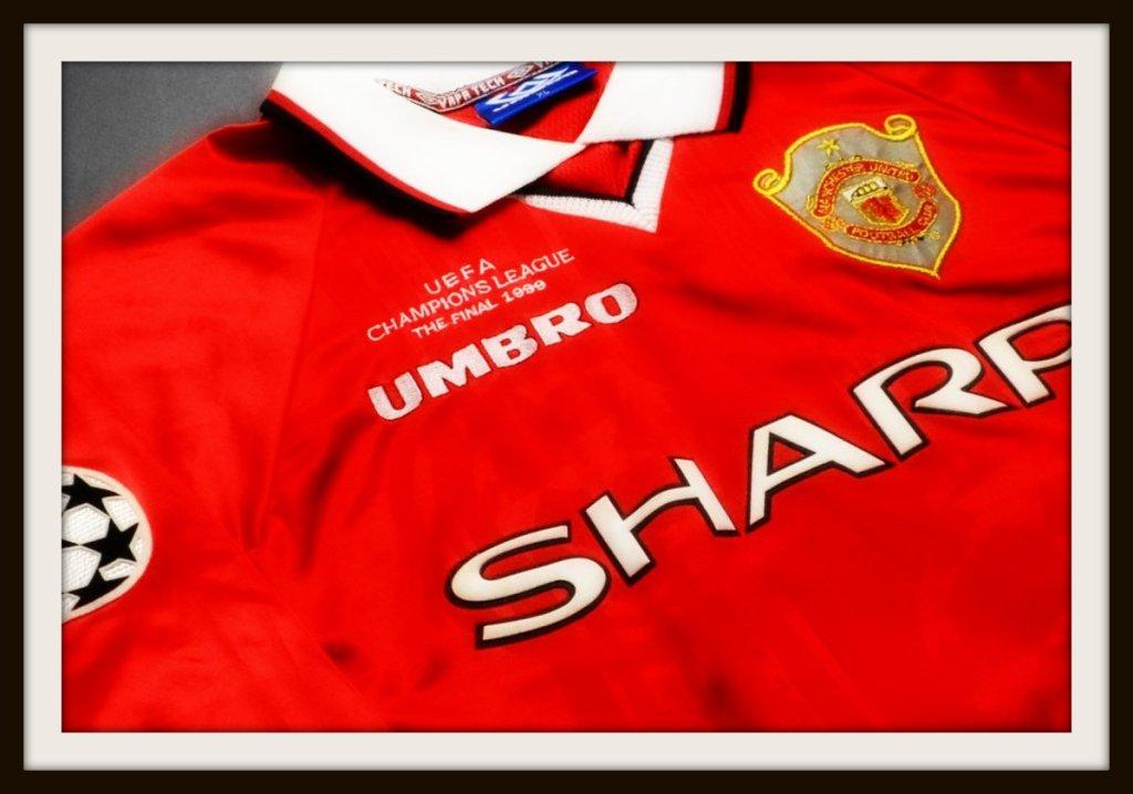 Manchester United, Umbro, 1999, kit, zip