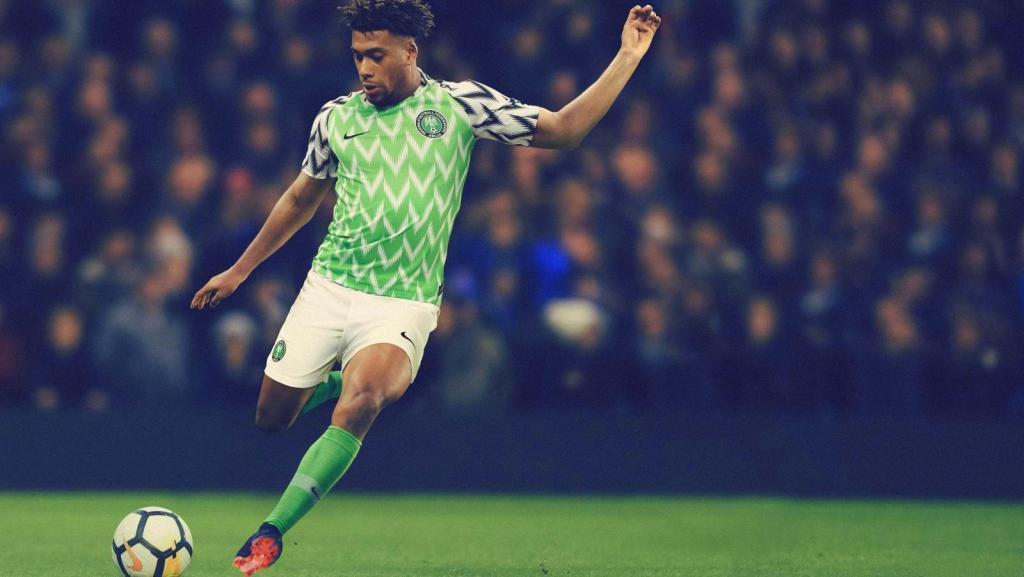 Nigeria, Nike, 2018, Alex Iwobi