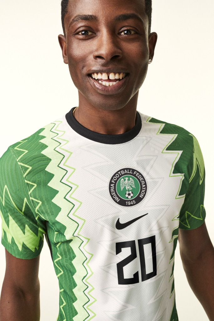 Nigeria, new home kit, Nike