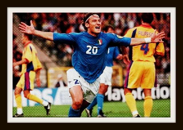Italy, Totti, Kappa, Euro 2000, shirt