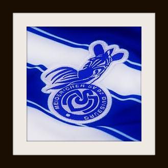 MSV Duisburg, crest, logo, Die Zebras, zebra