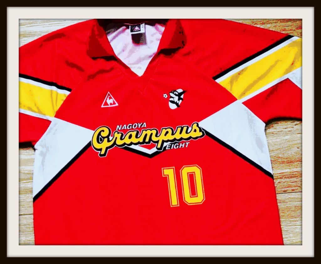 Nagoya Grampus 8, J-League, Le Coq Sportif, football shirt, kit