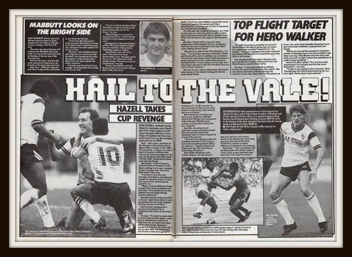 Port Vale, Tottenham Hotspur, 1988