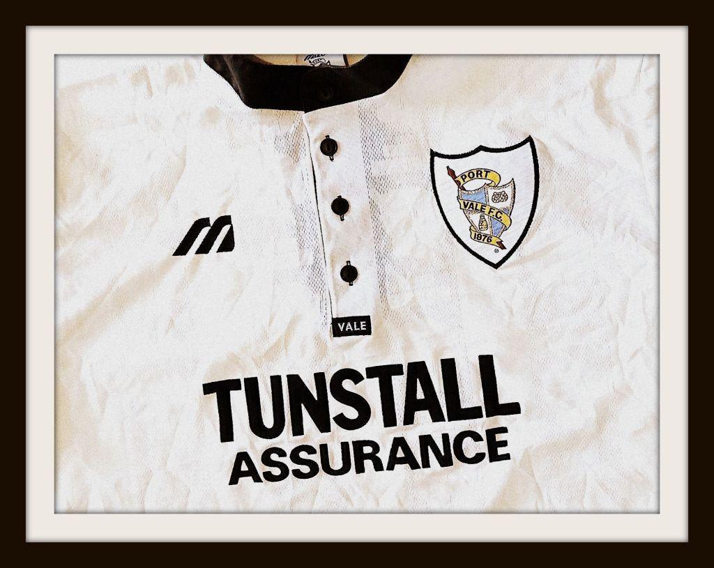Port Vale, Mizuno, Tunstall Assurance, 1997-99