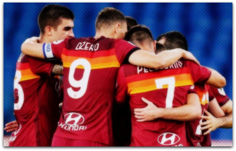 AS Roma, 2020-21, Nike, Dzeko, Lollipop