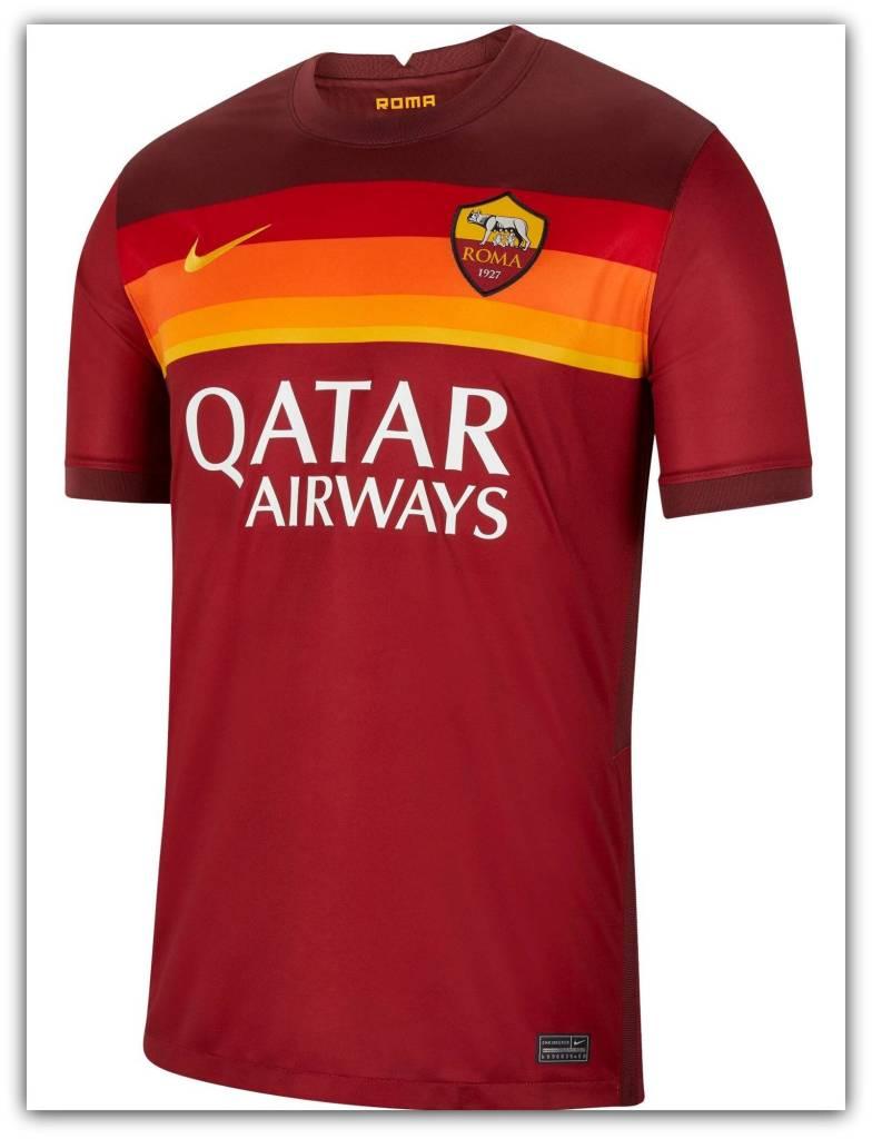 AS Roma, 2020-21, home, kit, Nike