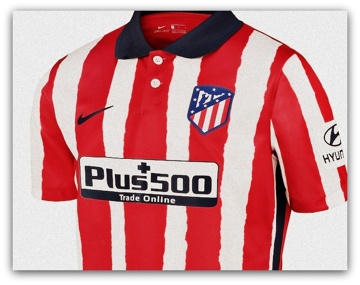 Atletico Madrid, 2020-21, home, kit, Nike