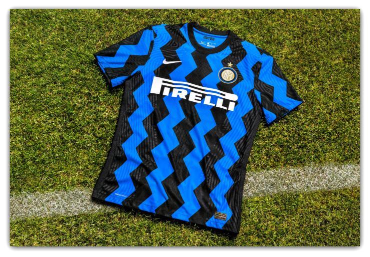 Inter Milan, 2020-21, Nike, Zig-zag, kit