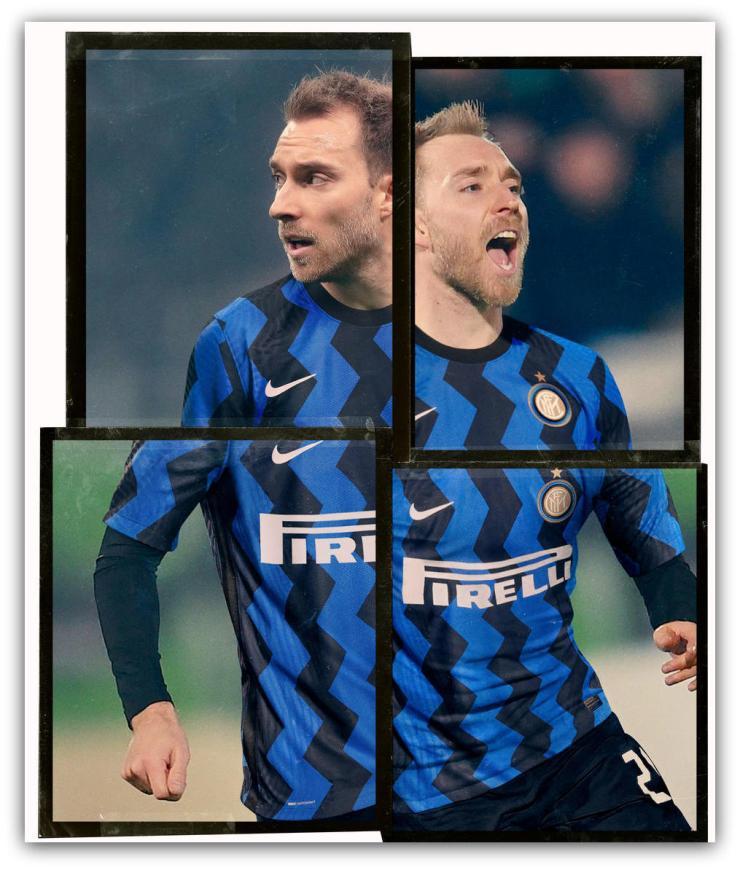Inter Milan, 2020-21, home shirt, zig-zag, Nike, kit
