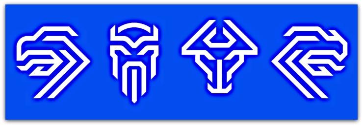 KSI, Iceland, football, badge, figures