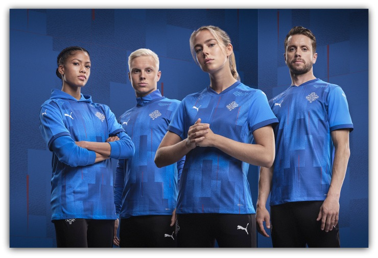 Iceland, Puma, kit, new, badge, crest, KSI