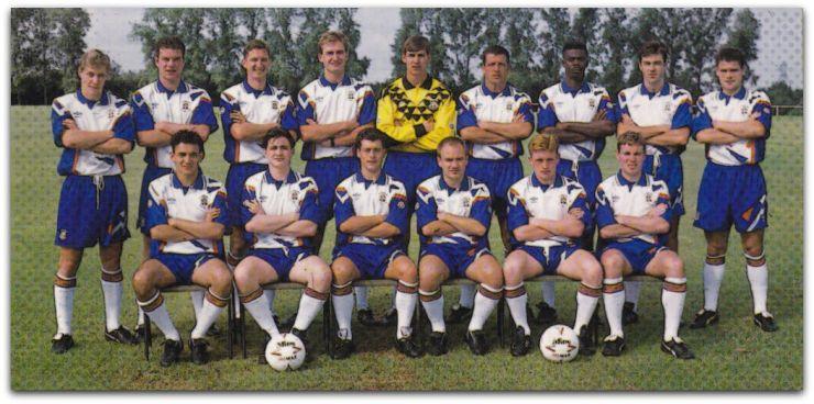 Luton Town, Umbro, 1991-92