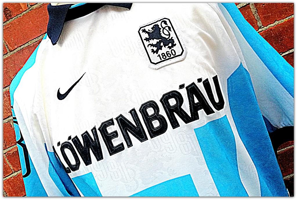 1860 Munich, Munchen, Nike, 1996-97