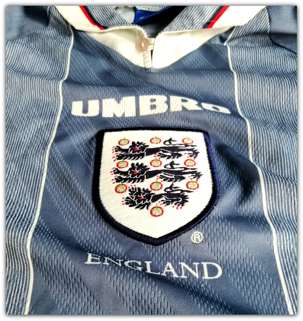 England, Umbro, Grey, Euro '96
