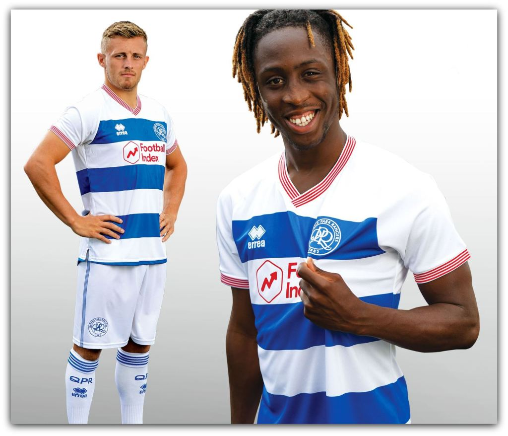 QPR, Erreà, 2020-21, Home, Kit