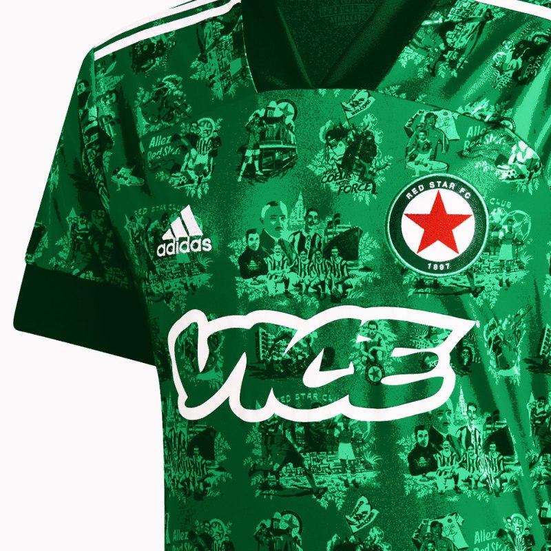 Red Star, Paris, Adidas, Vice, History, Shirt, 2020-21
