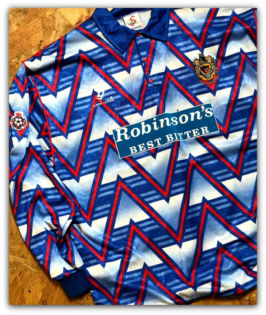 Stockport County, Super League, Robinson's Brewery, Best Bitter, 1993-94