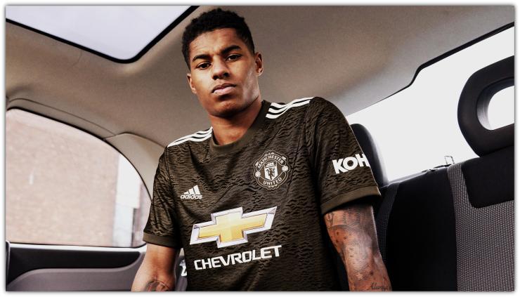 Marcus Rashford, Manchester United, kit