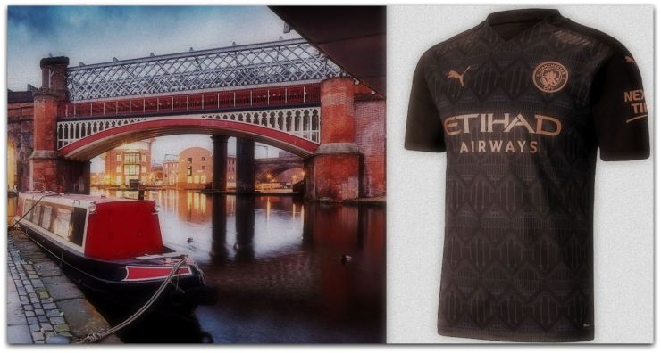 A look at the most talked about new kit of the past 7 days, Puma's paisley print Manchester City 3rd shirt.