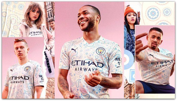 Manchester City, 2020-21, paisley, 3rd kit, Puma