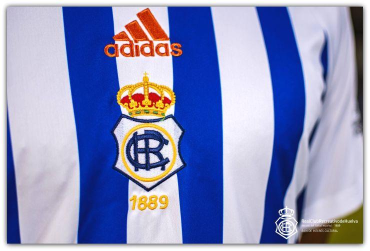 Recreativo de Huelva, home, shirt, Adidas