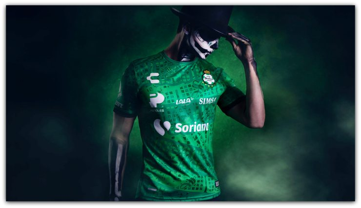 Club Santos Laguna, Charly, Day of the Dead, Shirt, Camisa, Camiseta