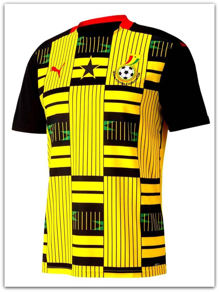 Ghana, Puma, 2020-21, away, kit