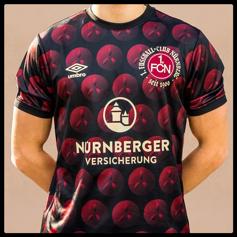 1fc Nurnberg, Christmas Shirt, Umbro, gingerbread, Lebkuchen