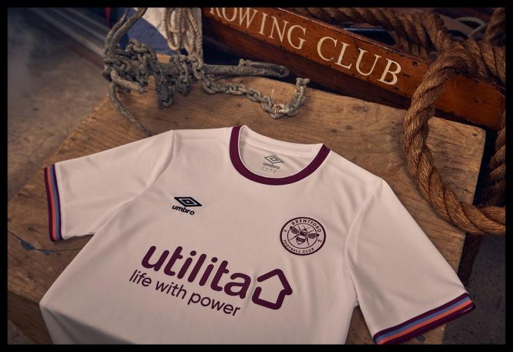 Brentford, Umbro, 2020-21, 3rd kit, rowing club