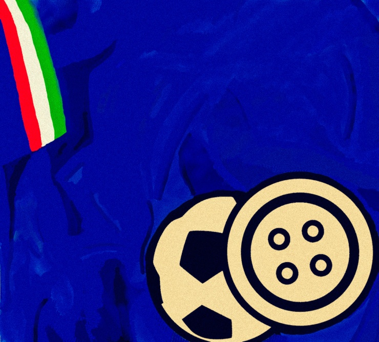 Italy, Sartorial Soccer, Azzurri, maglia, shirt, kit, retro